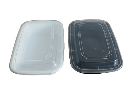 9″ Rectangular Container with Lid LR-32
