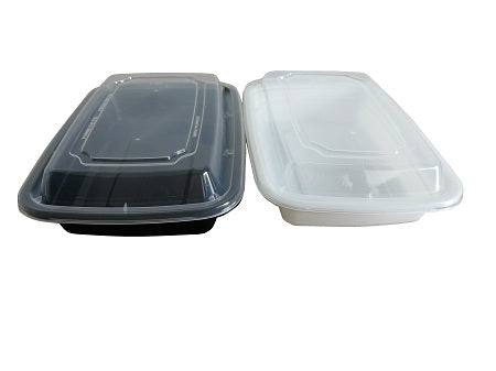 8″ Rectangular Container with Lid LR-16