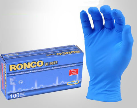 Ronco Nitrile Disposable Gloves 969/979/989