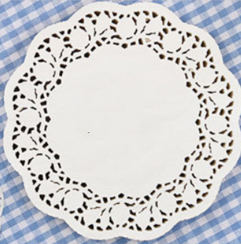 "6.5"" Round Paper Doilies PD6.5"