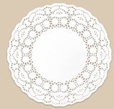 "6"" Round Paper Doilies 100-006/100-406-PD6"