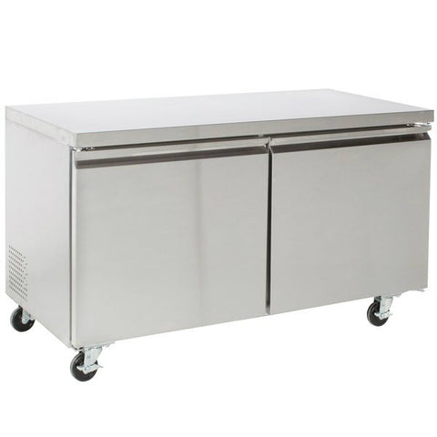 "60"" Two Door Undercounter Freezer SML-UC60F"