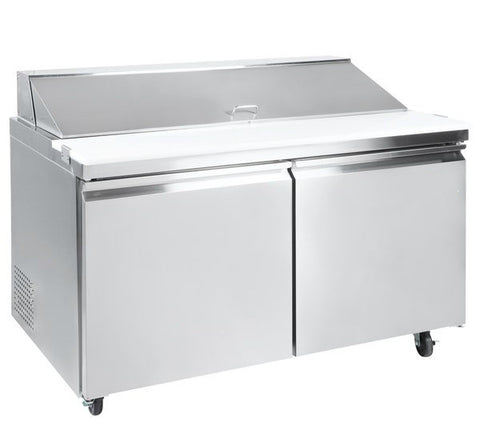 "60"" Two Door Sandwich/Salad Prep Table SML-S60-16"