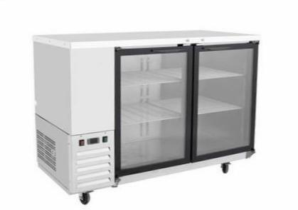 "58"" Back Bar Cooler with Glass Door SMC2-BBC58G"