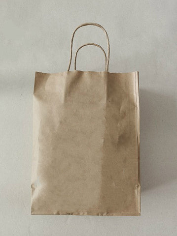 Kraft Paper Bag with Handles SM00481/1#