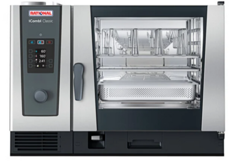 Rational iCombi Classic 6 Pan Full-Size Gas Combi Oven