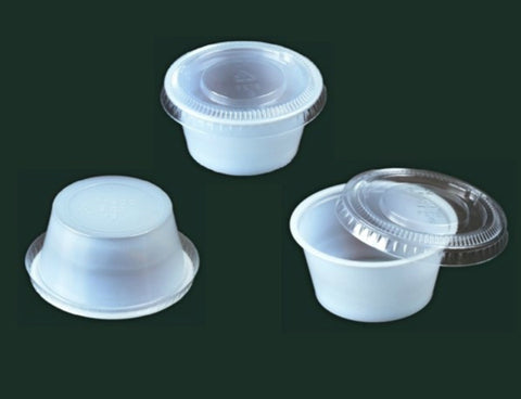 Sauce Cup with Lid SML-2A