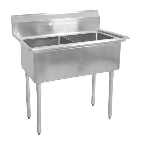 "Double Sink with 16"" x 20"" Bowl SM-D1620"