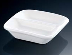 2-Section Condiments Dish