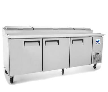 Three Doors Pizza Prep Table SMC3-PZT93
