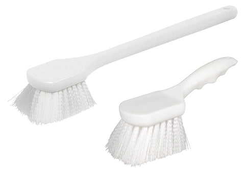 Pot Brush with Nylon Bristles and Plastic Handle
