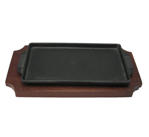 Japanese Rectangular Sizzle Plate