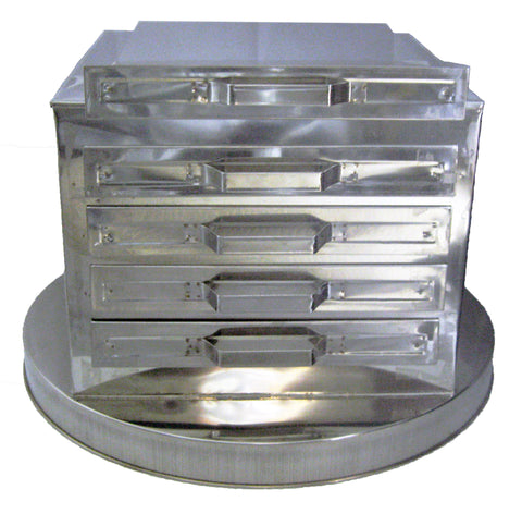 4-Tier Rice Roll Steamer RRS4 鋼四格腸粉爐