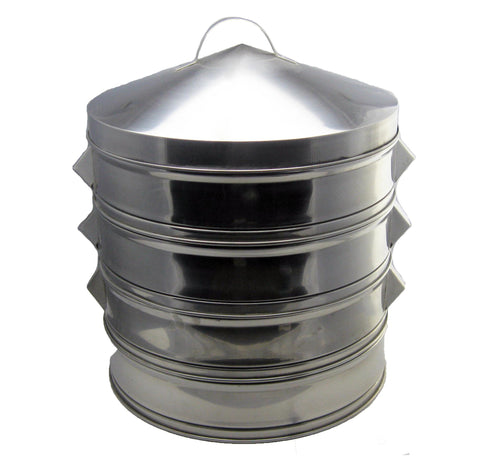 3 Tier Stainless Steel Steamer Set