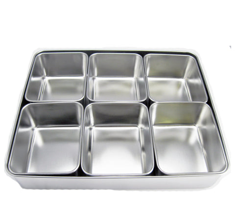 Japanese Style Steel Seasoning Box