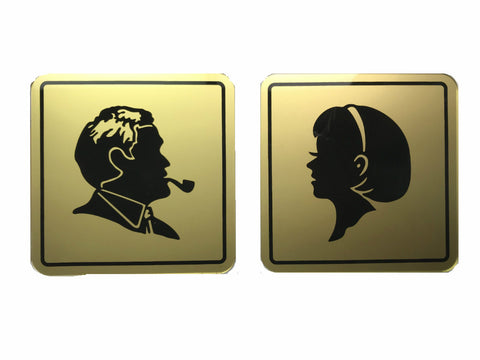 Restroom Sign SIGN-Men/Women-S