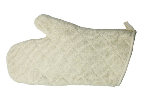 Oven Mitt, Terry with Silicone Lining