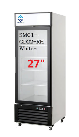 "27"" Single Glass Door Refrigerator SMC1-GD22-RH"