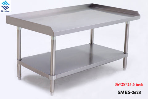 "36"" Stainless Steel Table SMES-3628"