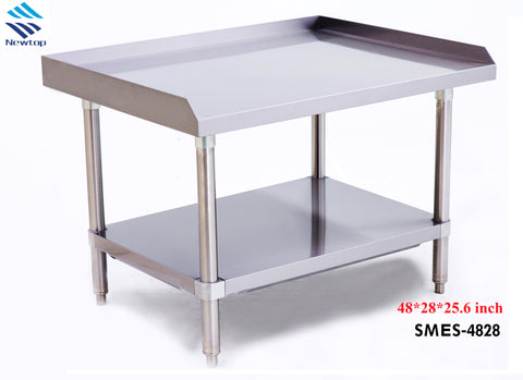"48"" Stainless Steel Table SMES-4828"