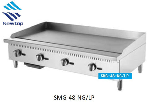 "48"" Griddle SMG-48-NG/LP"