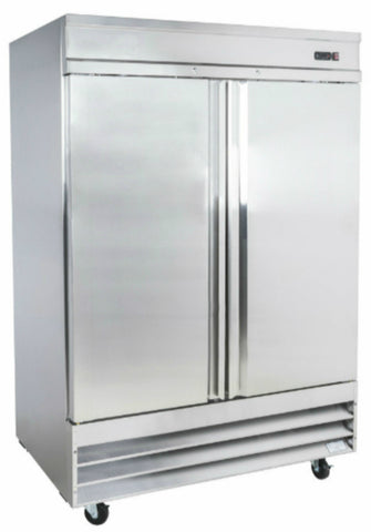 "54"" Double Door Reach-in Refrigerator SML-54R"
