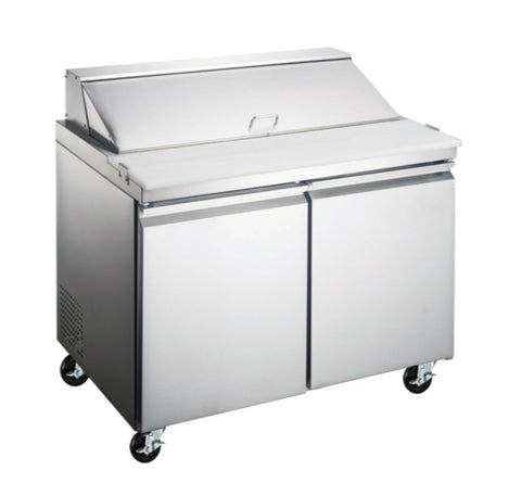 "36"" Two Door Sandwich/Salad Prep Table SML-S36"