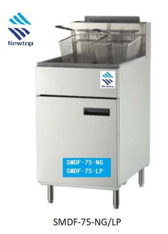 Fryers - SMDF-75-NG/LP