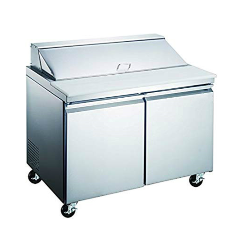 "48"" Two Door Sandwich/Salad Prep Table SML-S48-12"