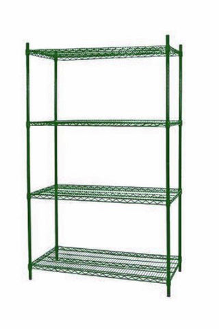 Green Epoxy Wireshelf Unit