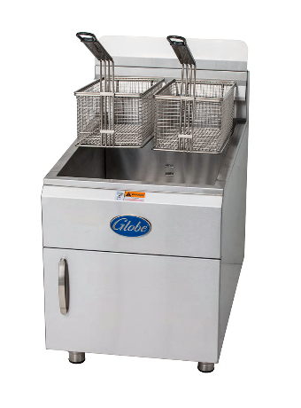 Globe Gas Countertop Fryer GF30G