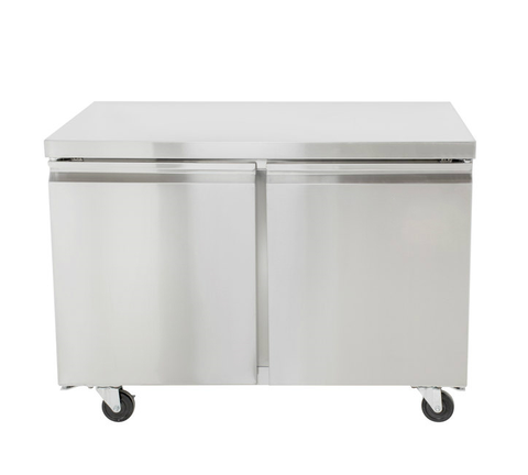 "48"" Double Door Undercounter Freezer SML-UC48F"