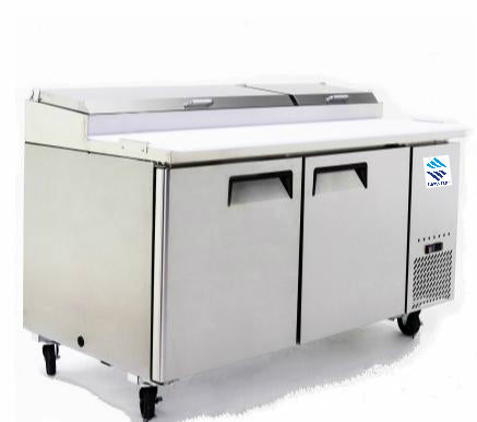 Double Doors Pizza Prep Table SMC2-PZT67