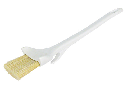 Concave Boar Bristle Pastry Brush with Hook