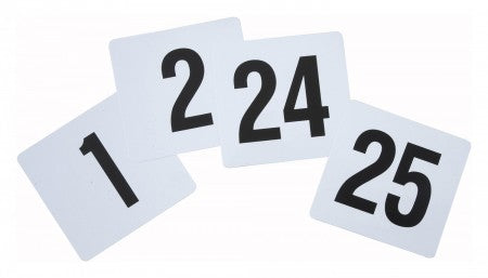 Table Numbers Cards JR-9025