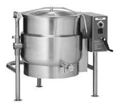KELT Series Electric Floor Mounted Jacketed Tilting Kettle