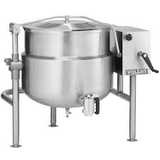 KDLT Series Direct Steam Floor Mounted Jacketed Tilting Kettle