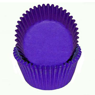 Baking Cups - Purple Glassine - single
