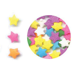 Confetti - Stars-Lt. Blue, Purple, White 1oz