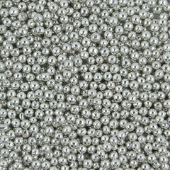 Silver Dragees - 5mm - 1oz