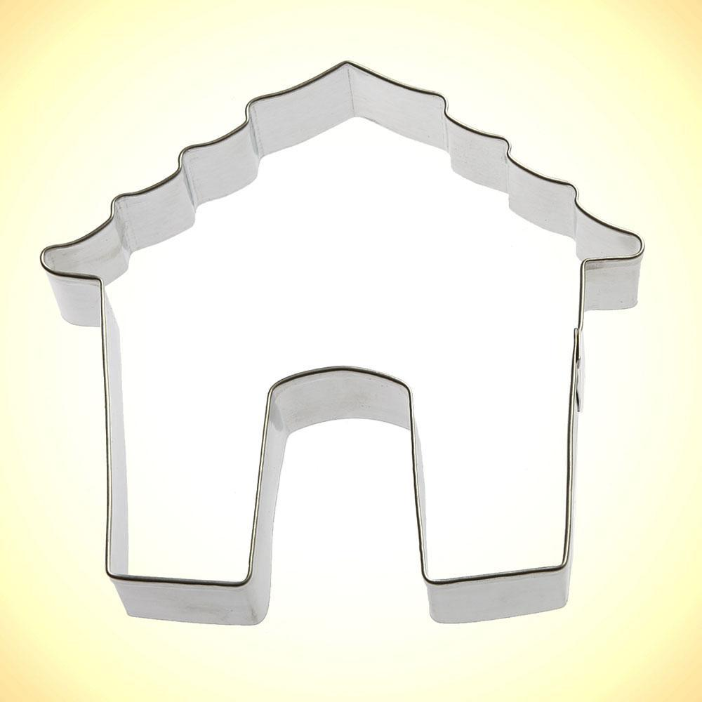 Dog House Cookie Cutter - 4""