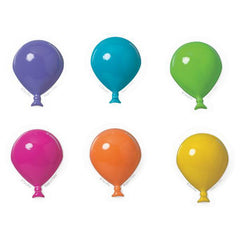 Balloons - Neon Pop Tops - 6 ct