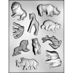 Zoo Animals Candy Mold