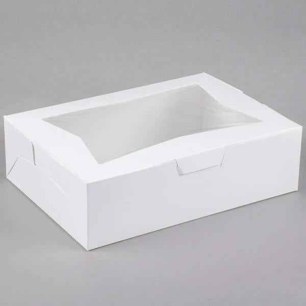 Cake Box - 14x10x4 - Window Box