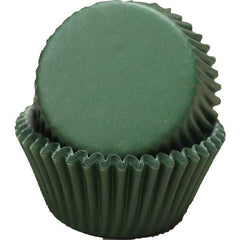 Baking Cups  - Dark Green - 50 ct