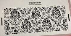 Tribal Damask - Stencil by Michelle Smith/Cake Craze