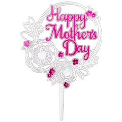 Happy Mother's Day Pick - Pkg of 3