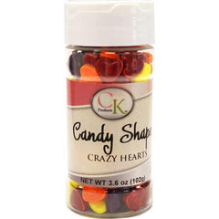 Crazy Hearts Multicolor Candy Mix 3.6 oz.