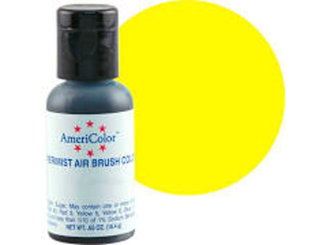 Lemon Yellow Airbrush .65oz