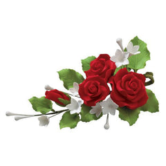"Red Rose Bouquet - 5.5"" x 3.25"" Box of 3"